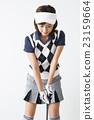 女性 高爾夫球手 高爾夫 23159664