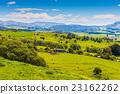 Hill view farm rural area 23162262
