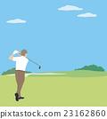 高爾夫 高爾夫球場 年長 23162860