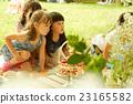 女孩 野餐 公园 23165582