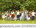 妈妈朋友享受野餐 23165634