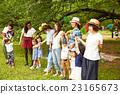 妈妈朋友享受野餐 23165673
