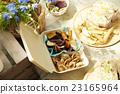 野餐 薯片 食品 23165964