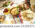 野餐 食物 食品 23165971