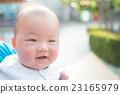 cute baby face 23165979