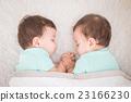 baby twins sleeping 23166230
