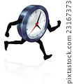 Running Time Concept Clock 23167373