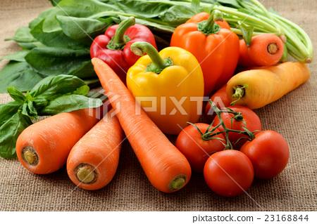 黃綠色蔬果 蔬菜 生的蔬菜 23168844