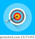 Arrow Hit Target Archery Equipment Sport Icon 23171455