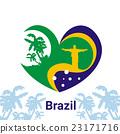 Brazil Jesus Statue lag Colors Colorful Banne 23171716