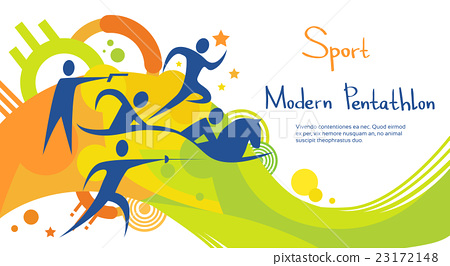Modern Pentathlon Athlete Sport Competition 23172148
