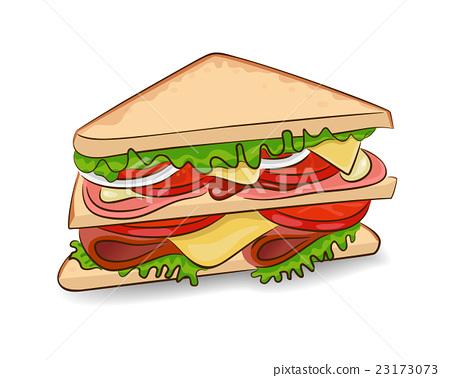 Vector classic sandwich 23173073