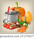 cooking pan cook 23174927
