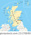 Independent Scotland Political Map 23176690