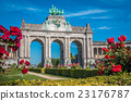 Cinquantinaire Arch in Brussels 23176787