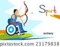archery, disabled, sport 23179838