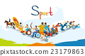 Disabled Athletes Sport Competition Banner 23179863
