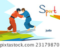 Disabled Athletes Judo Opponents Sport Competition 23179870
