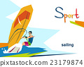 Disabled Athlete Sailing Sport Competition 23179874