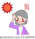 heatstroke, female, lady 23180694