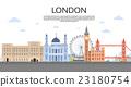 London English City View Copy Space 23180754