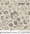 cat, pussy, pattern 23182908