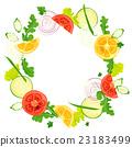 蔬菜 框架 帧 23183499