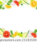 蔬菜 框架 帧 23183500
