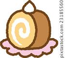 瑞士卷 果冻卷 夹心蛋糕 23185560