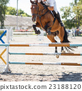 Equestrian jumping competition background 23188120