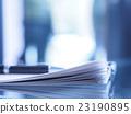 서류, 비즈니스, 자료 23190895