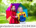 rain kids child 23194364