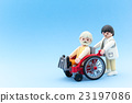 wheelchair, miniature, doll 23197086