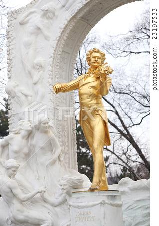 維也納約翰·施特勞斯雕像 23197533