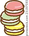 马卡龙 甜食 糖果店 23197593
