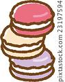 马卡龙 甜食 糖果店 23197594