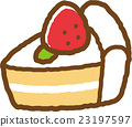 shortcake, confectionery, snack 23197597