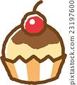 紙杯蛋糕 甜食 甜點 23197600
