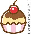 紙杯蛋糕 甜食 甜點 23197601