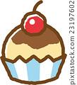 紙杯蛋糕 甜食 甜點 23197602