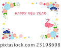 new, years, card 23198698