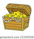 Cartoon Pirate Treasure 23200506