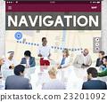 Navigation Location Travel Search Trip Concept 23201092