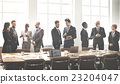 Business Group Meeting Discussion Strategy Working Concept 23204047