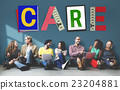 Care Assurance Protection Help Charity Security Concept 23204881