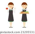 蔬菜 售货员 店员 23205531