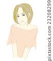 ภาพประกอบของผู้หญิงคนหนึ่ง (ผมสีน้ำตาล Bobcat) 23208299