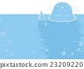 矢量 海里 海底的 23209220