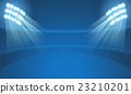 Light stadium mast vector illustration 23210201