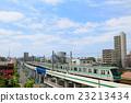 รถไฟซีรีส์ 16,000 ของรถไฟโตเกียวเมโทรชิโยะดะวิ่งบนพื้นดิน 23213434